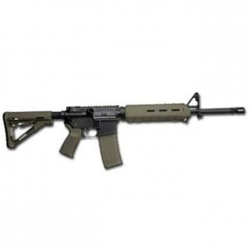 "Del-Ton Sierra 316 AR-15 Semi Auto Rifle 5.56 NATO 16"" Barrel 30 Rounds M-LOK Handguard Collapsible Stock OD Green/Black RFTMH16MLOKOD"