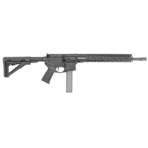 """Stag Arms STAG 9 Tactical Semi Auto Rifle 9mm Luger 16"""" 4150 Steel Barrel 32 Rounds Free Float SL M-LOK 13.5"""" Handguard Magpul CTR Stock Black"""