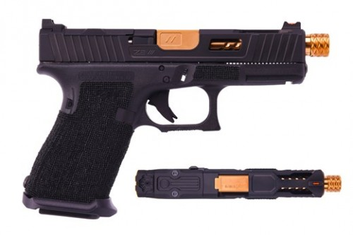 ZEV Technologies ZEV G19 G4 Raptor Blk TH GUN.MOD-LP.GM-RB19-TH
