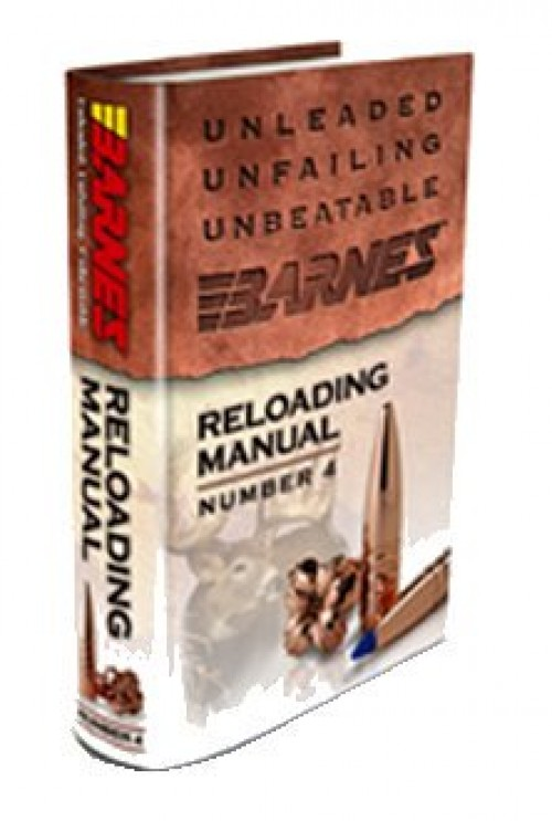 Barnes Reloading Manual, No. 4