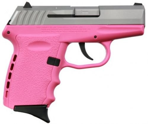 SCCY CPX-2 Pink / Stainless 9mm 3.1-inch 10rd