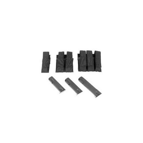 BlackHawk Duty Double Pistol Mag Pouch W/TalonFlex, Black 52PMK2BK