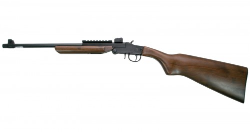 Chiappa Firearm Little Badger Wood/Blued 22WMR 16.5-inch 1rd