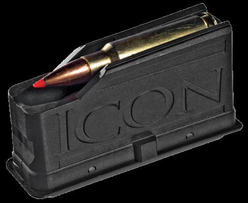 Thompson Center Icon Magnum Long Action 3 Round Black Magazine (9821)