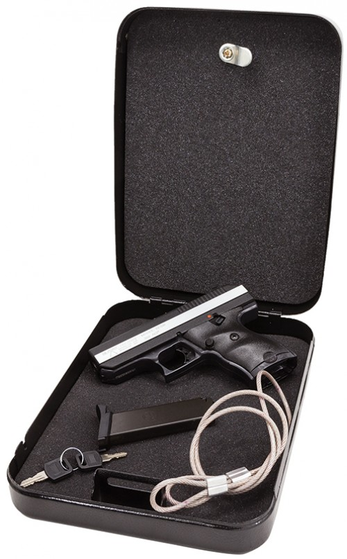 Hi-Point Semi Auto Handgun 380 8RD POLY with Lockbox