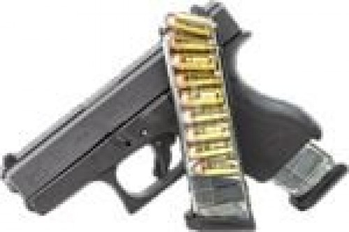 Elite Tactical Systems ETS Glock 42 Magazine 9rd Smoke FOR GLK-42-9