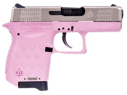 Diamondback DB9HP/EXO 9mm Auto Pink