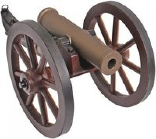 Traditions Mountain Howitzer Cannon Bronze .50 Caliber 6.75-inch 1Rds
