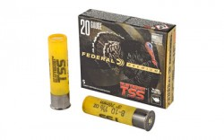FEDERAL AMMUNITION 20 Gauge 3-In 1-5/8 oz 8 and 10 Shot Heavyweight TSS 5/Box