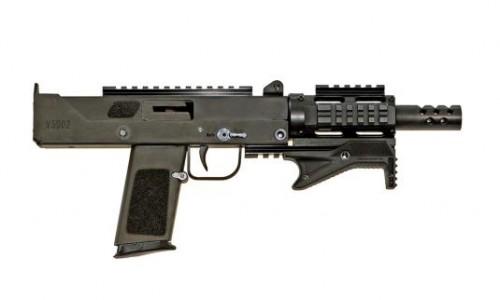 MasterPiece Arms 30 DMG Multi Caliber Pistol Flat Dark Earth 9mm  5.5-inch 17RD