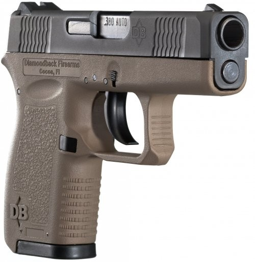 Diamondback Firearms DB380 FDE .380ACP 2.8-inch 6Rd