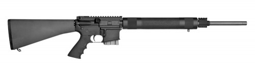 """Stag Arms STAG-15 Super Varminter Semi Auto Rifle 6.8 SPC II 20.77"""" Stainless Steel Heavy Barrel 10 Rounds Hogue Free Float Handguard Magpul Fixed Rifle Stock Black"""