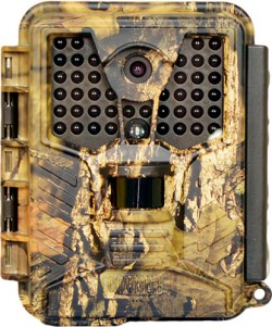 Covert Scouting Cameras 12 MP 8 x AA ICE Trail Camera 720p Video w/ Sound, 42 No Glow LED's, Mossy Oak Country, 5489