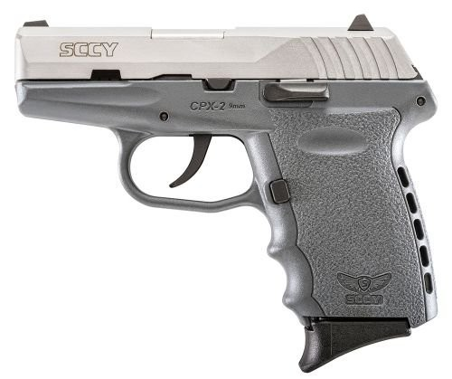 SCCY CPX-2 9MM SS/GRAY 10 1