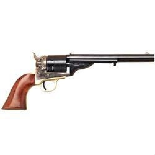 """Cimarron 1872 Open Top Navy Single Action Revolver .45 Long Colt 7.5"""" Barrel 6 Rounds Fixed Sights Case Hardened Frame One piece Walnut Grip CA922"""