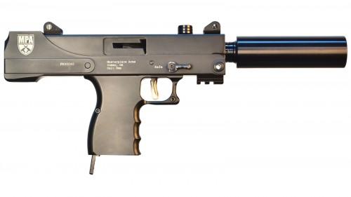 MasterPiece Arms Pistol Black 9mm 6-inch 30rd