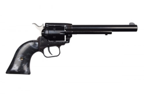 Heritage Manufacturing Rough Rider Revolver .22 LR 6.5in 6rd Blued Black Pearl RR22B6BLKPRL