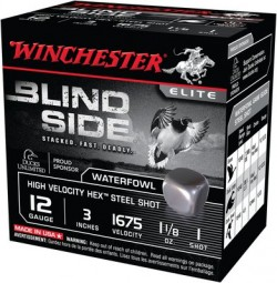 Winchester Blind Side High-Velocity Shotshells Per Box