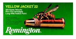 22 LR - 33 gr TCHP - Remington - Yellow Jacket - 50 Rounds