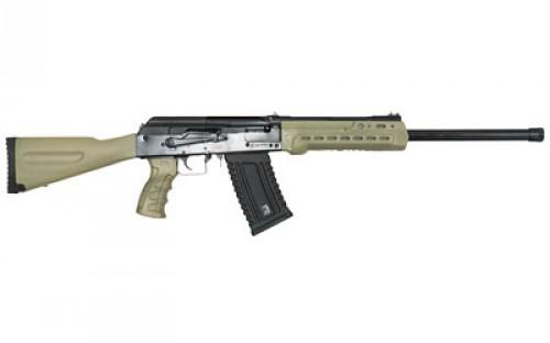 "Kalashnikov USA KS-12 Semi Auto Shotgun 12 Gauge 18.25"" Barrel 3"" Chamber 5 Rounds Fixed Sights FDE Polymer Furniture Matte Black"