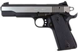 American Tactical Imports German Sport Guns M1911 Semi Auto Pistol Black / Polished Stainless 22 LR 5 inch 10 rd