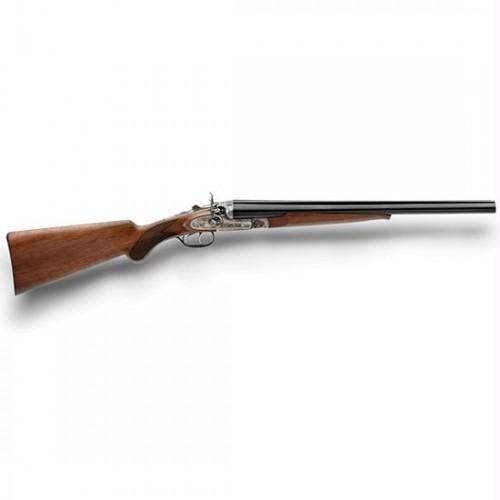 "Pedersoli Wyatt Earp Side By Side 12 Gauge Shotgun 3""Chamber 20"" Barrel Improved Cylinder Walnut Stock"
