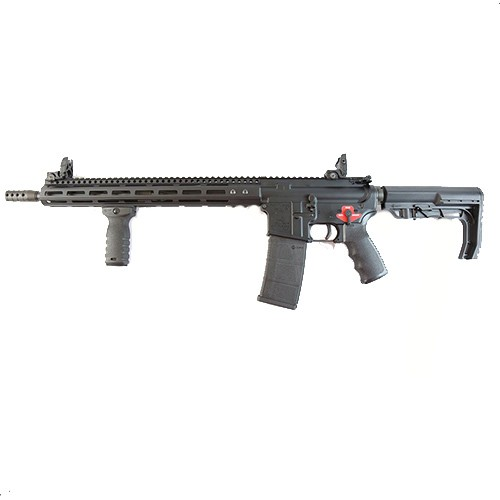 """Franklin Armory BFSIII M4-HTF XTD AR-15 Semi Auto Rifle 5.56 NATO 16"""" M4 Profile Barrel 30 Rounds FST 15"""" M-LOK Hand Guard MFT Minimalist Stock Black"""