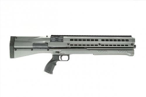 "UTAS UTS-15 Pump Action Shotgun 12 Gauge 18.5"" Barrel 3"" Chamber 14 Rounds Polymer Body Tungsten PS1TG1"