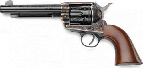 "IFC 1873 SA Revolver .45 Colt 4-3/4"" Barrel Patton Laser Engraved Blued"
