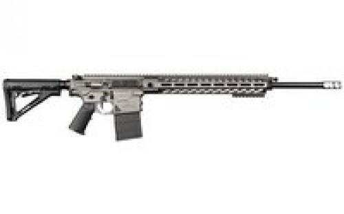 "NEMO XO Steel AR Style Semi Auto Rifle 6.5 Creedmoor 22"" Barrel 20 Rounds 15"" Aluminum M-LOK Handguard Magpul CTR Collapsible Stock Tungsten Grey"