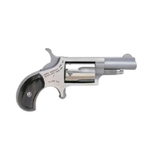 North American Arms Mini .22LR Revolver 1.625 Stainless Black Pearl