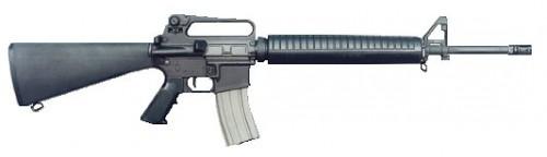 Bushmaster Target Black 5.56 NATO / .223 Rem 20-inch 30rd