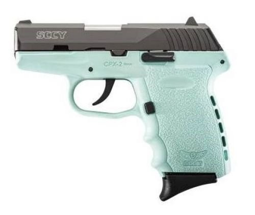 SCCY CPX2CBSB 9MM 3.1 CRB NMS 10 BLUE
