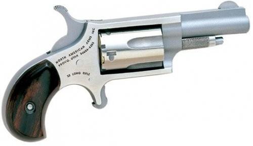 North American Arms Mini Revolver .22LR 1.625-inch Fixed Sights 5SH