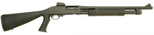 "Interstate Arms 982T Pump 12 ga 18.5"" 3"" GRS Black Syn Stock Black"