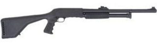Ithaca M37 Defender Shotgun .12 GA 18.5in 5rd Black Breacher DEFM371218SBRE