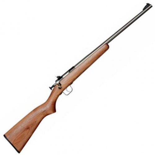 Crickett Bolt-Action Rifle Walnut/Blued .22LR 16in Barrel Single Shot