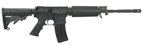 Windham Weaponry WW-15 SRC M4 Semiautomatic Tactical Rifle - Black