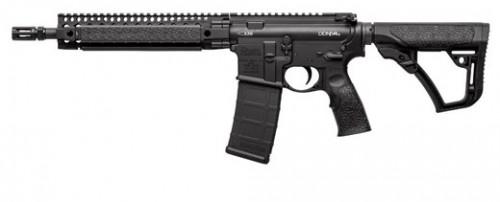 Daniel Defense DDM4 M4A1 MIL-SPEC Matte Black .223 REM/ 5.56 NATO 11.50-Inch 30Rd NFA Item