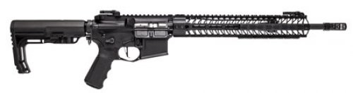 Spike's Tactical Pipe Hitters Union Black 5.56 16-inch MLOK