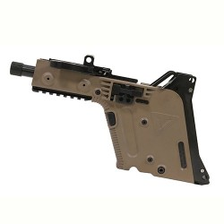 KRISS Vector GEN II SDP Complete Lower Receiver FDE .45 ACP 5.5-inch Threaded Barrel