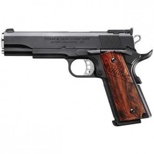 "Ithaca Gun Company 1911 45 ACP Pistol 5"" Barrel Novak Sights G10 Grips Black Finish Semi Automatic Pistol"