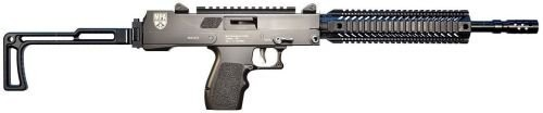 "MasterPiece Arms 5700DMG Defender Carbine Semi-Automatic 5.7mmX28mm 16"" 20+1 Folding Black Stk Black"