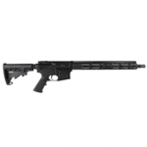 "Radical Firearms AR-15 Semi Auto Rifle 5.56 NATO 30 Rounds 16"" Barrel 15"" Free Float FCR M-LOK Handguard MFT Minimalist Collapsible Stock Black"
