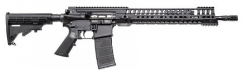 Patriot Ordnance Factory P-415 Hybrid Semi-Automatic 5.56NATO/223 Rem 16.5 Inch Barrel Black