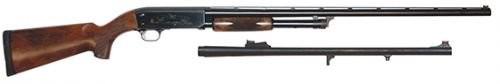 """Ithaca Model 37 Upland Combo, Pump Action, 12 Gauge, 26""""/24"""" Barrels, 4+1 Rounds"""