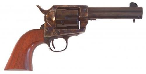 "Cimarron SA Frontier Old Model .45 LC Single Action Revolver 4.75"" Barrel 6 Rounds Walnut Grip Case Hardened/Blued Finish"