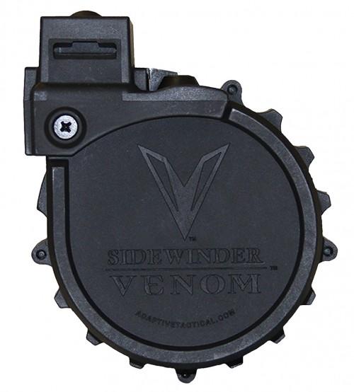 "Adaptive Tactical00902 Sidewinder Venom Rotary Mag 12ga 2.75"" 10rd Poly Blk"